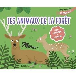 Mon livre sonore | Animaux de la forêt à caresser par Tourbillon couverture