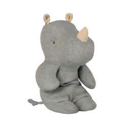 Doudou rhinocéros | Bleu