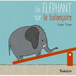 Un éléphant sur la balançoire par Tourbillon couverture