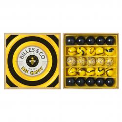 Boite de 25 billes | Box abeilles par Billes
