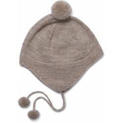 Bonnet laine | Beige