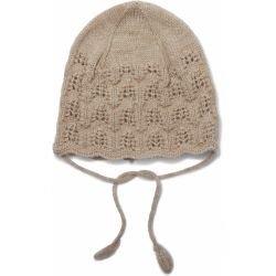Bonnet béguin laine | Crème