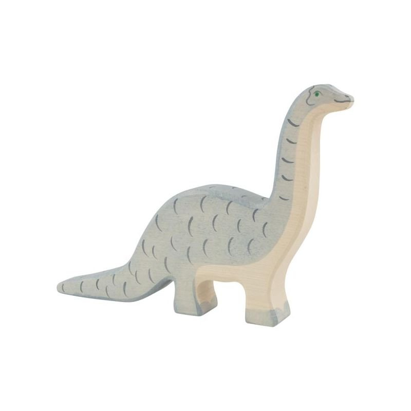Brontosaure en bois par Holztiger