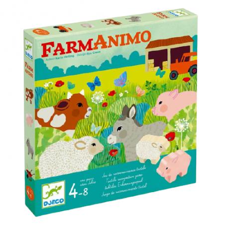 FarmAnimo par Djeco dans la boite