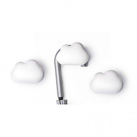 Patère nuage décoratif pour accrocher une vêtement