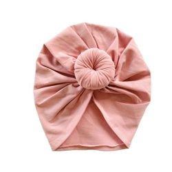 Turban Iris  Donut | Rose poudré