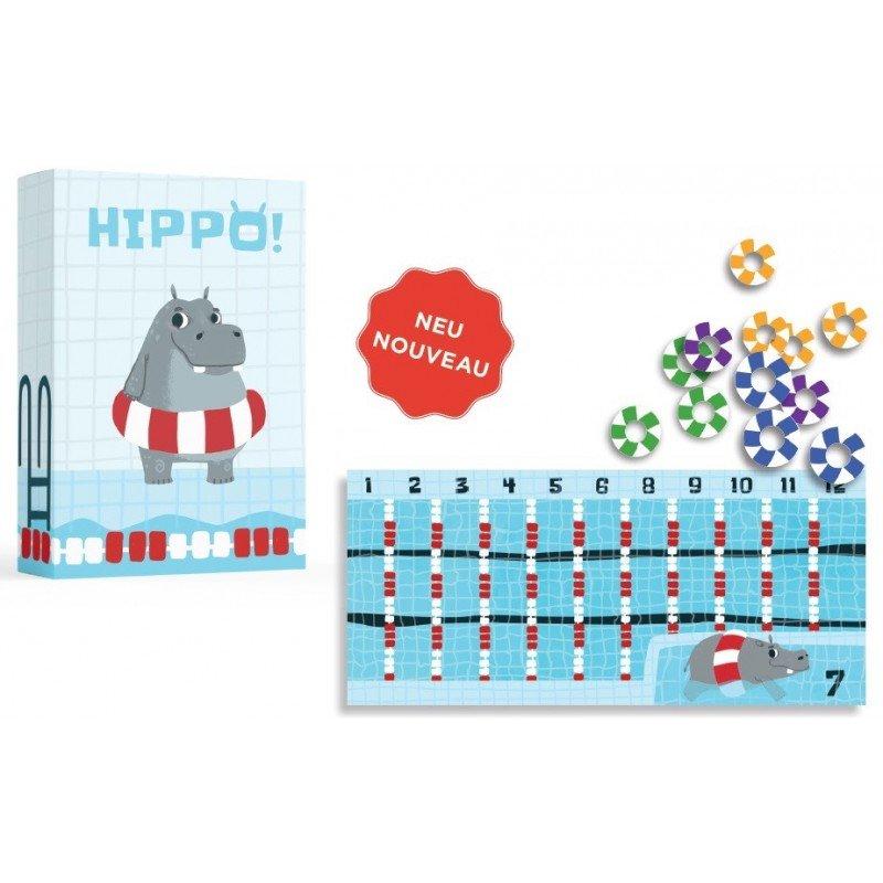 Jeu de cartes hippo à partir de 6 ans et son contenu