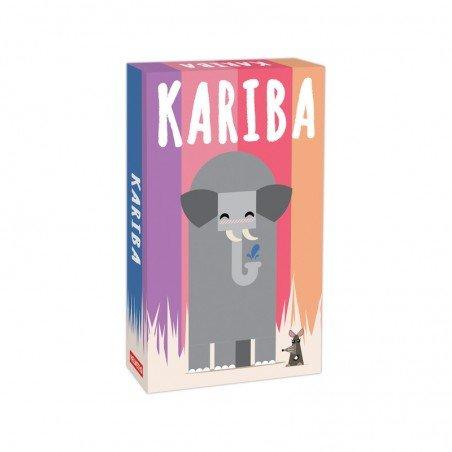 Jeu de cartes kariba à partir de 6 ans où vous devez faire fuir les animaux