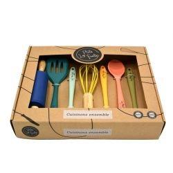 Set d'ustensiles de cuisine pour enfants par Les petits fouets dans la boite