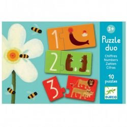 Puzzle duo  Chiffres