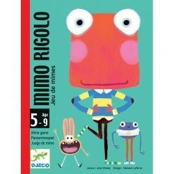 Jeu de cartes Mimo rigolo par Djeco dans sa boite