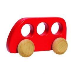 Bus en bois | Rouge