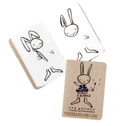Carnet de dessins les tenues du lapin