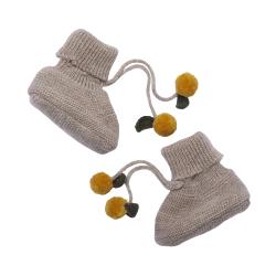 Chaussons laines | Citrons