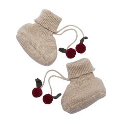 Chaussons laines | Cerises