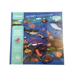 Puzzle détective océan - lunettes (3096)