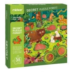 Puzzle détective forêt - lunettes (3096)