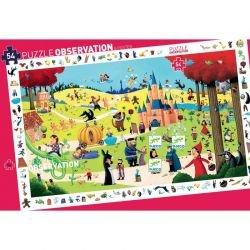 Puzzle d'observation Contes - 54 pièces