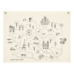 Carte de Paris par Rose in April