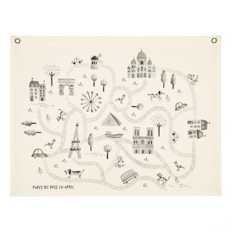 Carte de Paris par Rose in April