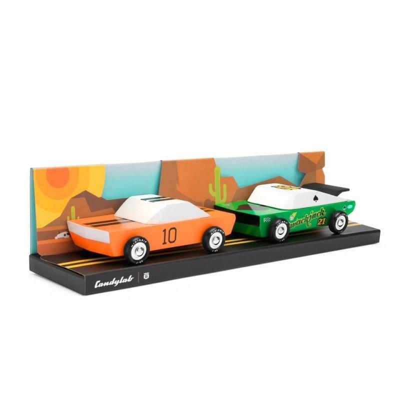 Candycar | Lot de 2 voitures Desert Race par CandyLab Toys dans sa boite