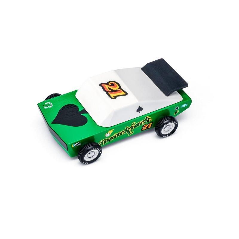 Candycar | Lot de 2 voitures Desert Race par CandyLab Toys voiture verte du dessus