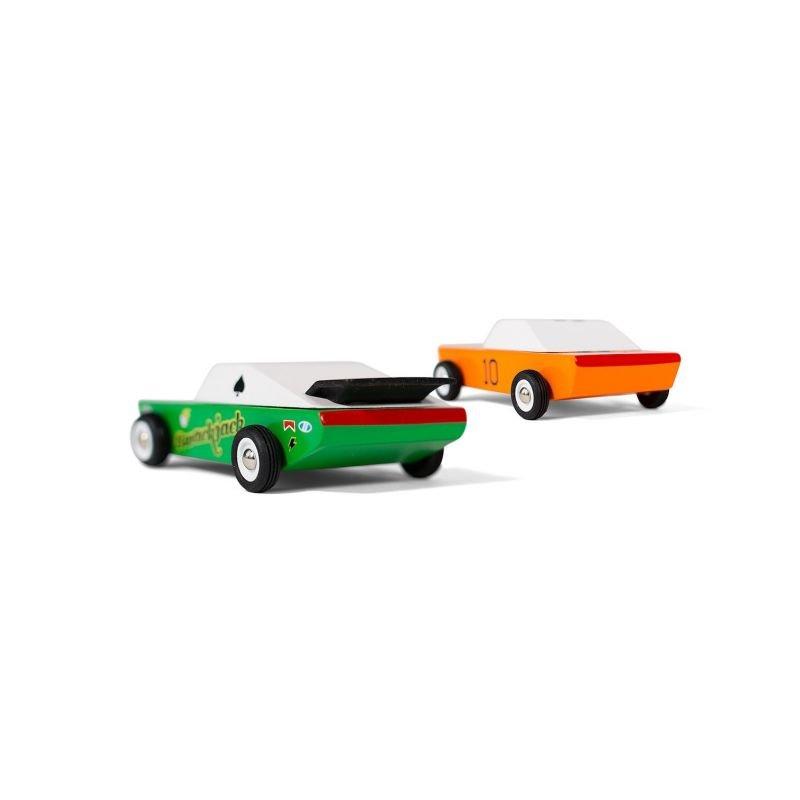 Candycar | Lot de 2 voitures Desert Race par CandyLab Toys deux voitures de derrière
