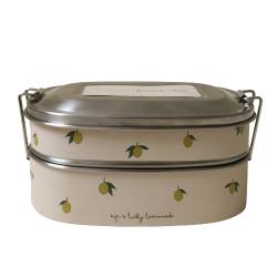 Lunch box en inox | Citron