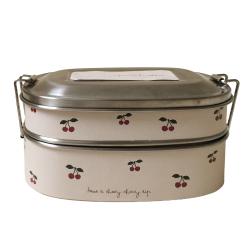 Lunch box en inox | Cerise