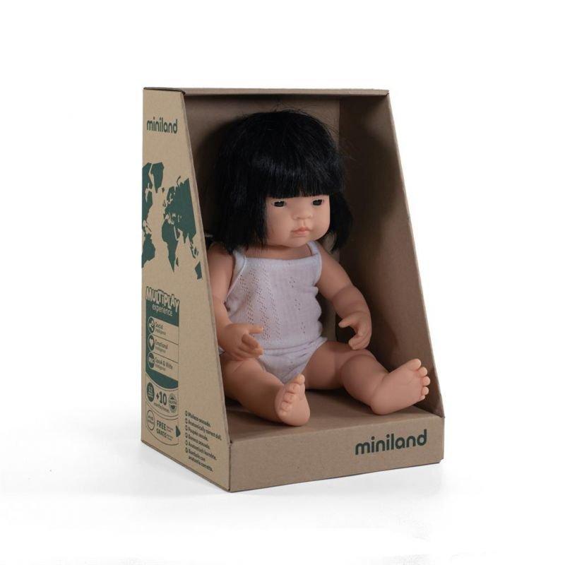 Poupée 38 cm | Asiatique fille par Miniland dans sa boite