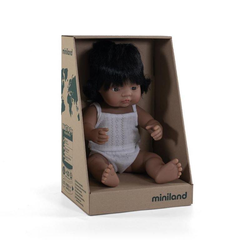 Poupée 38 cm | Hispanique fille par Miniland dans sa boite