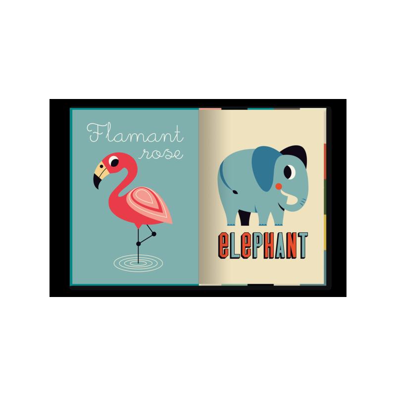Livre géant   Animaux par Marcel et Joachim double page