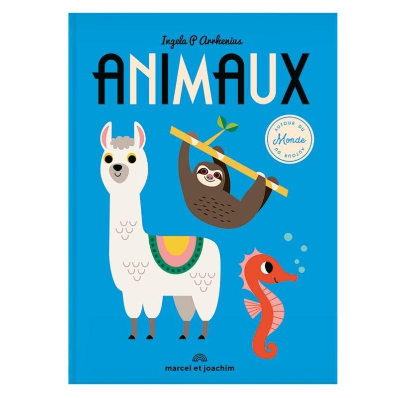 Livre géant | Animaux autour du monde par Marcel et Joachim double page