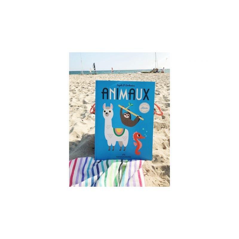 Livre géant | Animaux autour du monde par Marcel et Joachim sur la plage