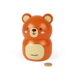 Tirelire ours par Janod