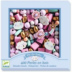 Perles en bois | Arc en ciel par Djeco