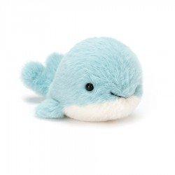 Peluche petite baleine bleue par Jellycat