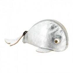 Porte monnaie Baleine Silver