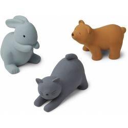 3 jouets pour le bain | Chat bleu