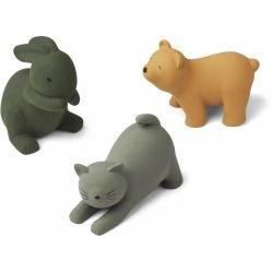 3 jouets pour le bain | Chat vert