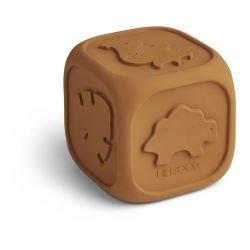 Cube en caoutchouc | Moutarde