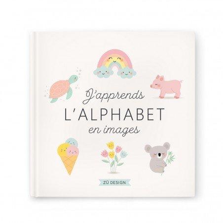 Couverture du livre J'apprends l'alphabet en images Zü