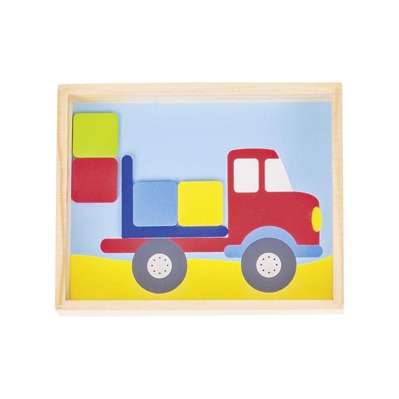 Grand jeu de patience | Camion par Goki