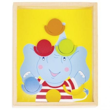 Grand jeu de patience   Elephant par Goki