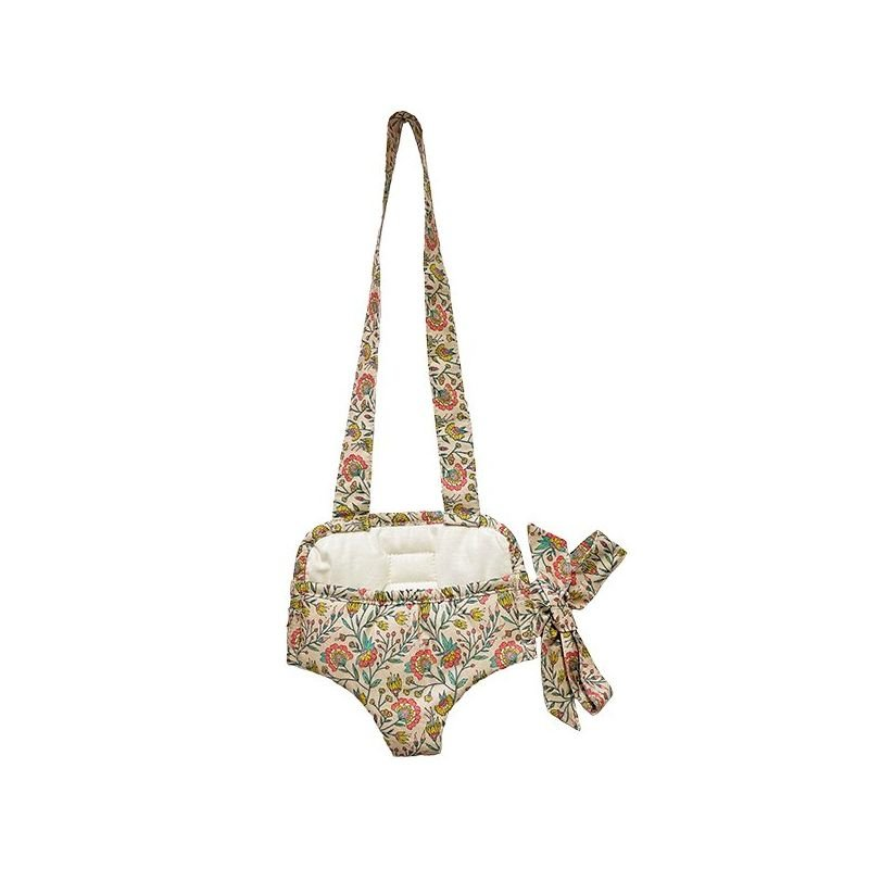 Porte poupée   Fleurs en liane par Minikane de dos