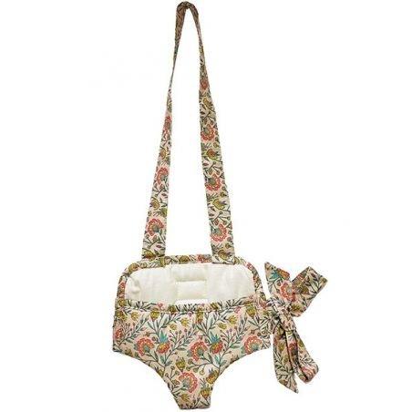 Porte poupée   Fleurs en liane par Minikane
