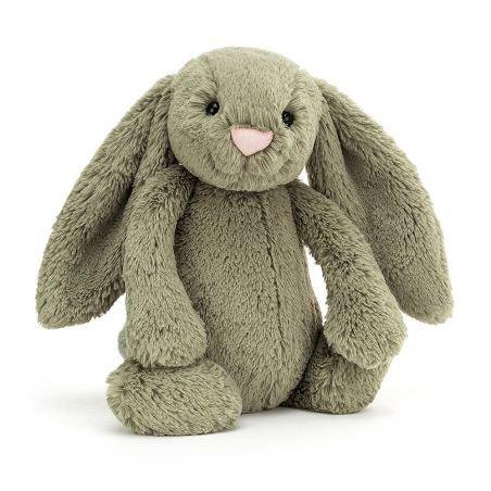 Lapin Bashful 31 cm | Vert fougère