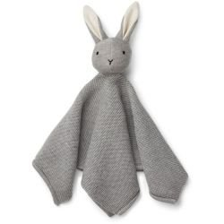 Doudou tricot en coton | Gris