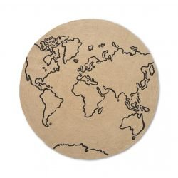 Tapis rond en Jute | World