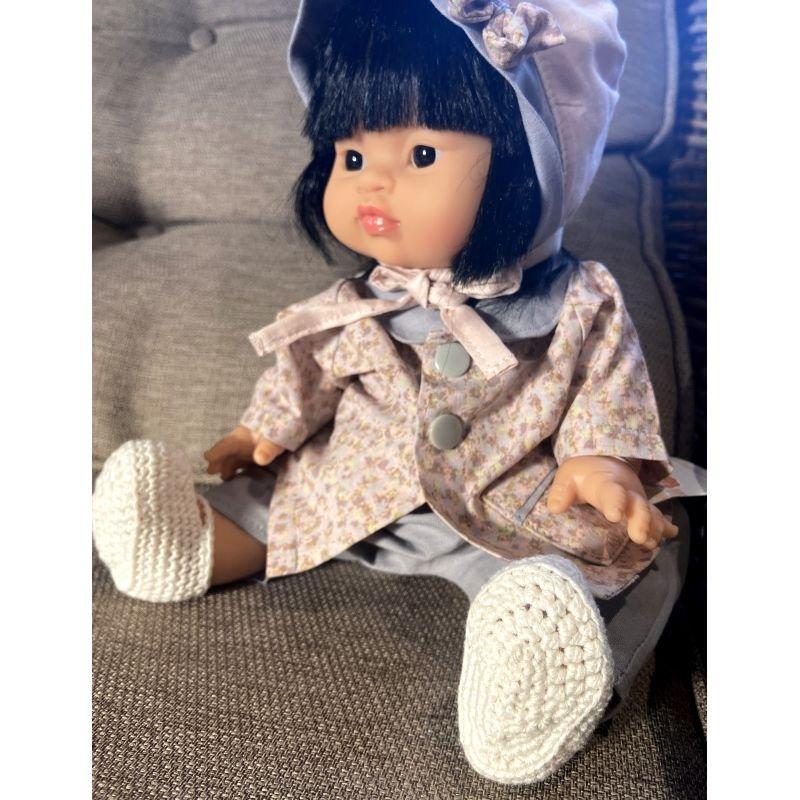 Chaussons pour poupée | Blanc
